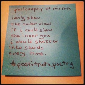 philosophy of mirrors