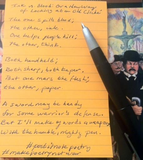 pen poem